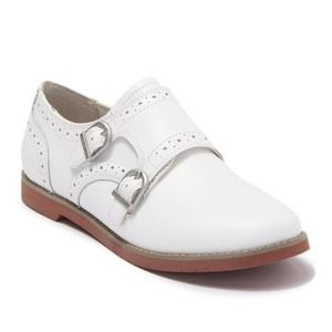 Eastland Goldie Double Monk Strap Loafer White 9M